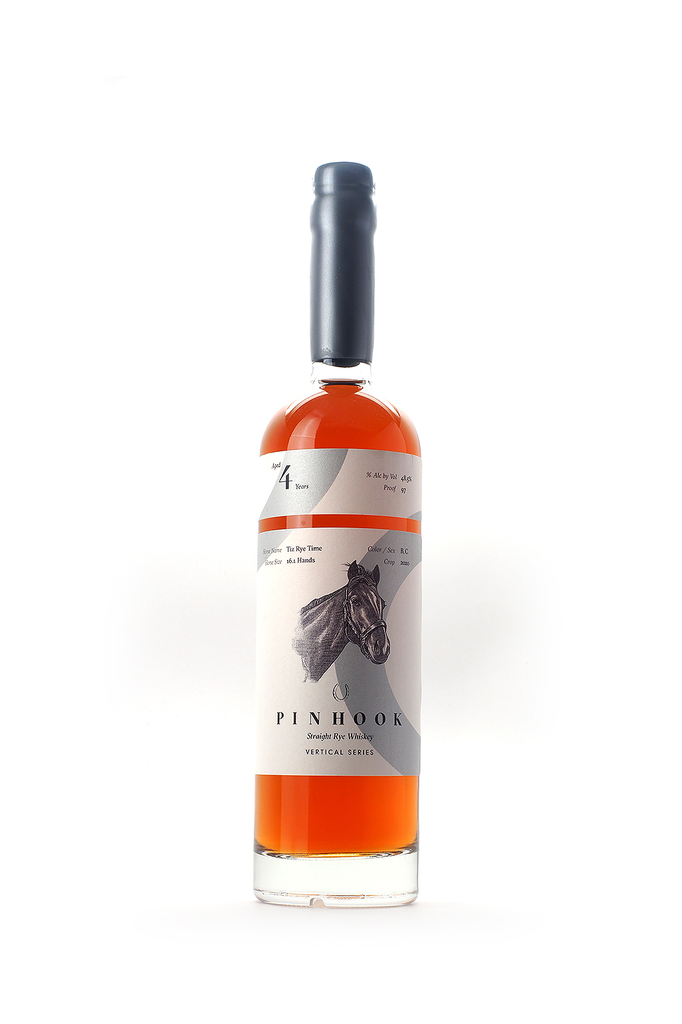 Pinhook Vertical Series Tiz Rye Time 4 Year Straight Rye Whiskey