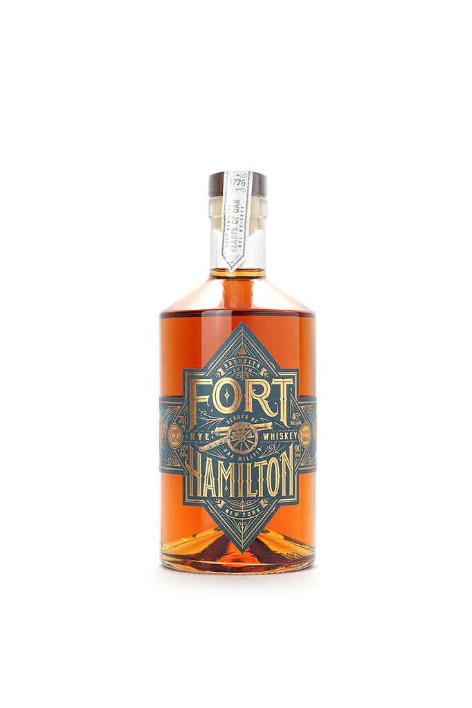 Fort Hamilton Single Barrel Rye Whiskey