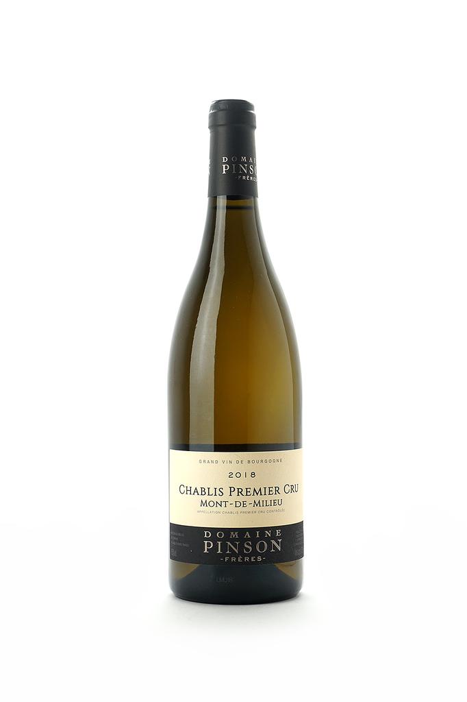 Domaine Pinson Freres Chablis 1er, Mont-de-Milieu 2018