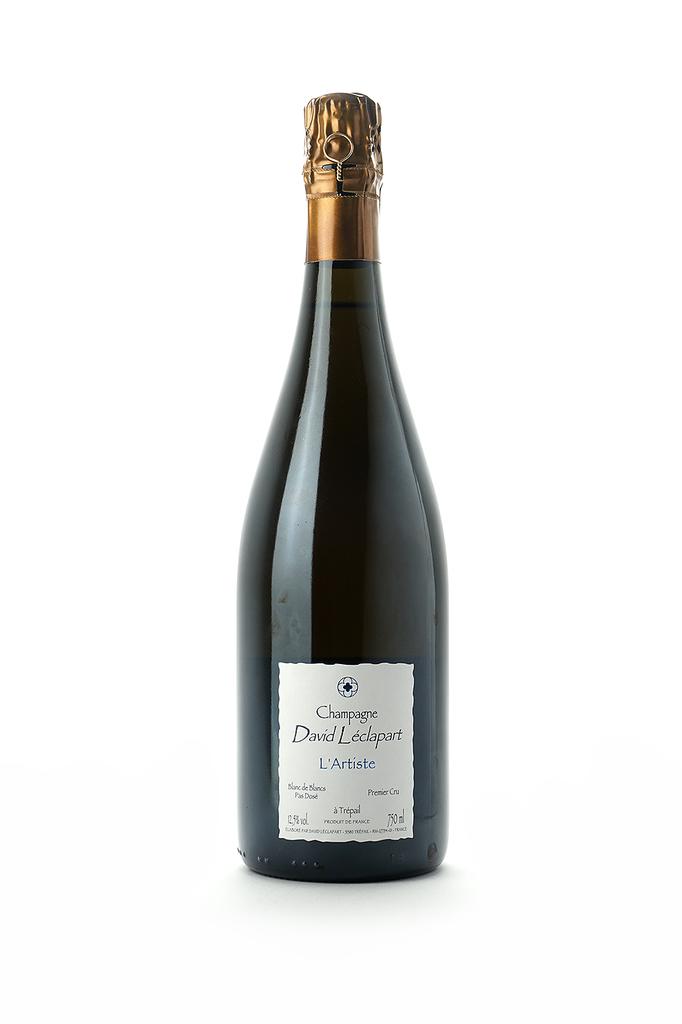 Champagne David Leclapart 1er Cru Extra Brut Blanc de Blancs L'Artiste