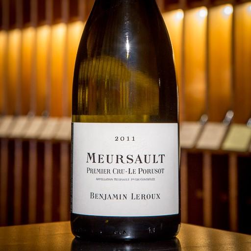 Benjamin Leroux Meursault 1er Cru Le Porusot 2011