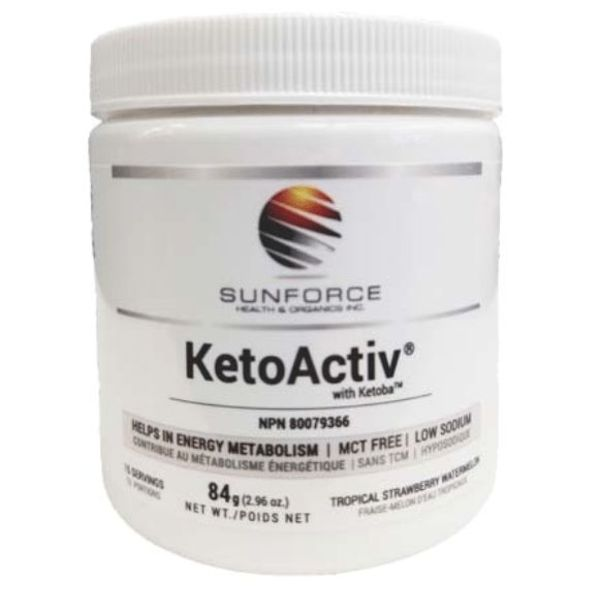 SunForce KetoActiv Tropical Strawberry Watermelon 84g