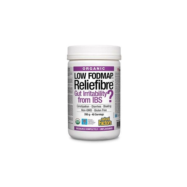 Natural Factors Natural Factors Reliefibre Unflavoured 200g