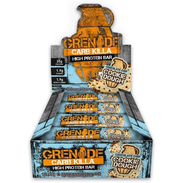 Grenade Carb Killa Cookie Dough 12 X 60g