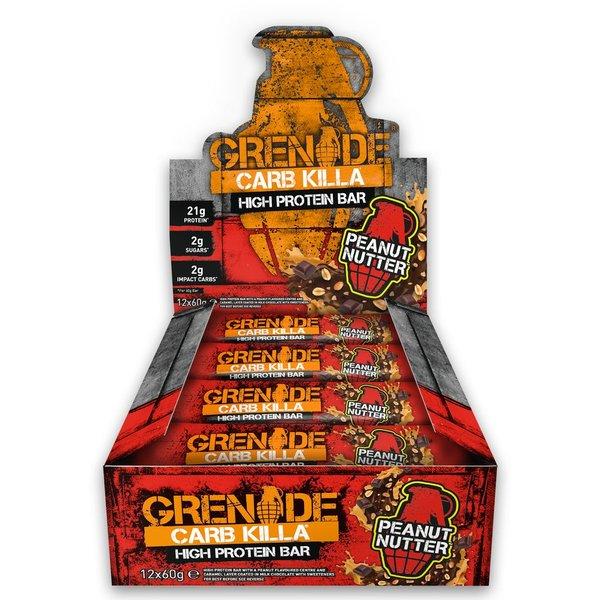 Grenade Carb Killa Peanut Nutter 12 X 60g