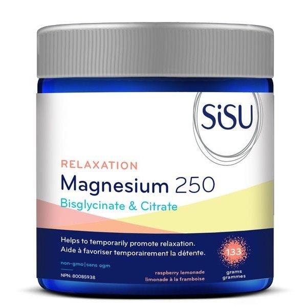 SISU Sisu Relaxation Magnesium 250 mg 133 g