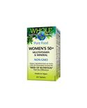 Whole Earth & Sea Whole Earth & Sea Women's 50+ Multivitamin & Mineral 60 tabs
