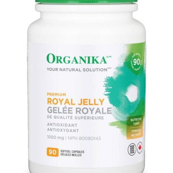 Organika Organika Premium Royal Jelly 500mg 120 sgel