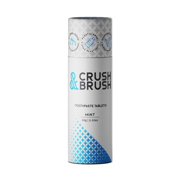 Nelson Naturals Nelson Crush & Brush Toothpaste /tablets - Mint 60g