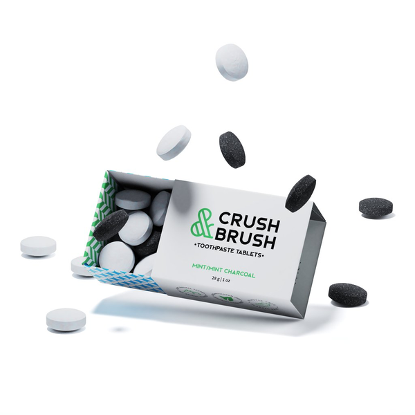 Nelson Naturals Nelson Crush & Brush Toothpaste Tablets 30 tabs