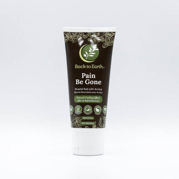 Back to Earth Back To Earth Pain Be Gone Muscle Rub with Arnica 60ml
