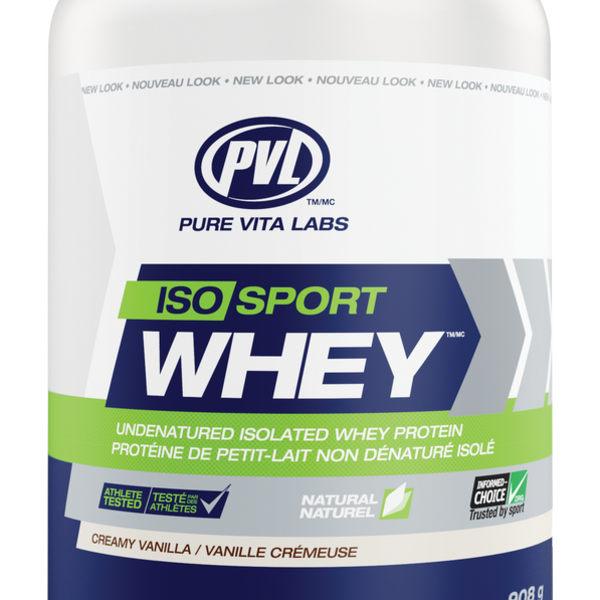 PVL Essentials Iso-Sport Whey Vanilla 908g
