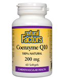 Natural Factors Natural Factors Coenzyme Q10 200 mg 60 softgels