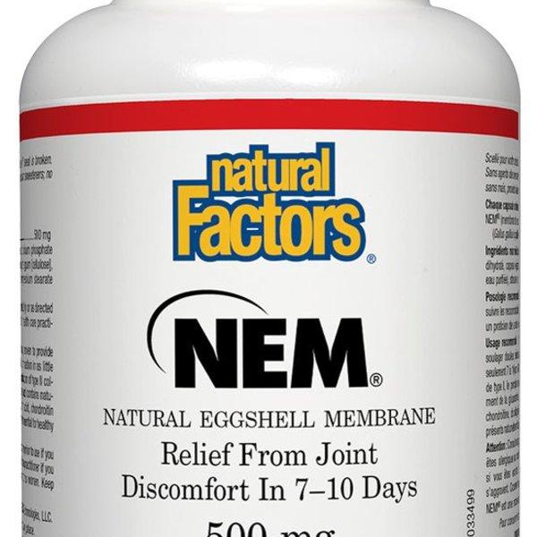 Natural Factors Natural Factors NEM Eggshell Membrane 500mg 30 vcaps