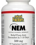 Natural Factors Natural Factors NEM Eggshell Membrane 500mg 60 vcaps