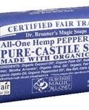 Dr. Bronner's Dr Bronner's Peppermint Castile Bar Soap 140g