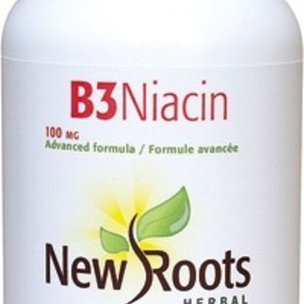 New Roots New Roots Vitamin B3 Niacin 100mg 90 caps