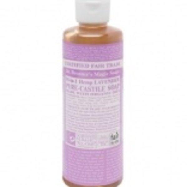 Dr. Bronner's Dr Bronner's Lavender Oil Castile Soap Liquid 8oz