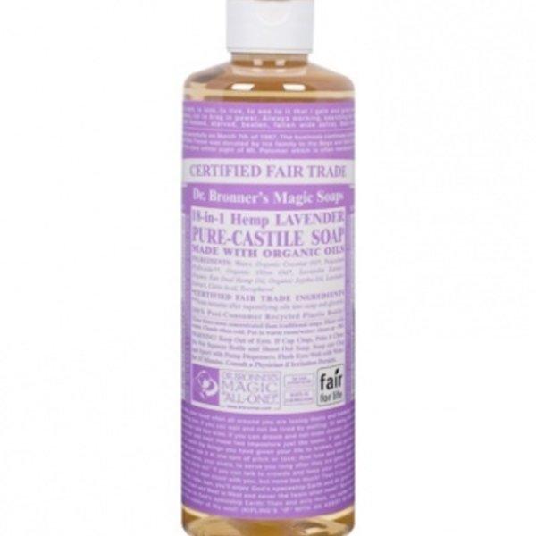 Dr. Bronner's Dr Bronner's Lavender Oil Castile Soap Liquid 16oz