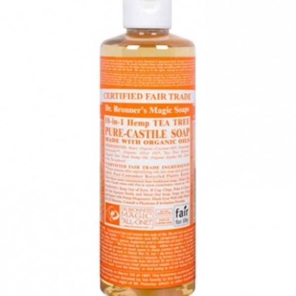 Dr. Bronner's Dr Bronner's Tea Tree Castile Soap Liquid 16oz