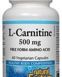 Natural Factors Natural Factors L-Carnitine 500 mg 60 vcaps