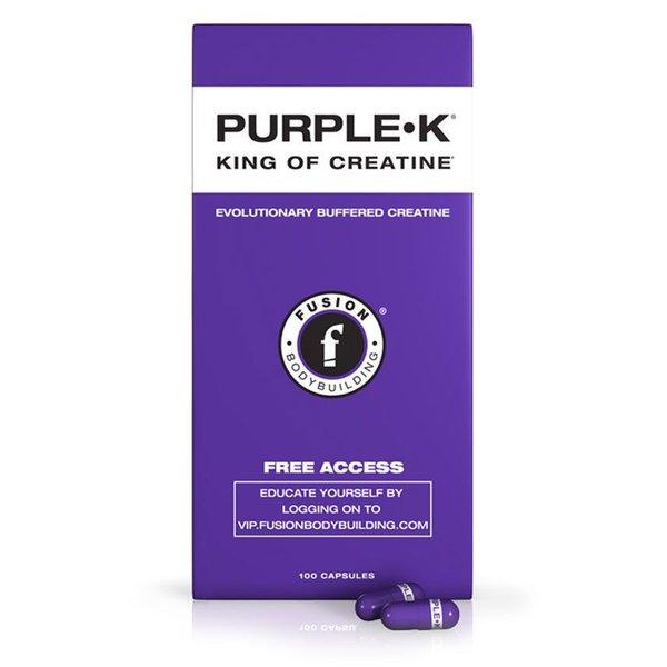 Fusion Bodybuilding Fusion PURPLE•K-100 caps