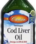 Carlson Carlson Cod Liver Oil 500ml Lemon