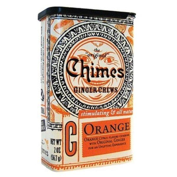 Chimes Chimes Orange Ginger Chews Tin 56.7g