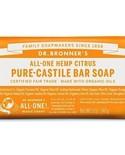 Dr. Bronner's Dr Bronner's Citrus Orange Oil Castile Bar Soap 140g