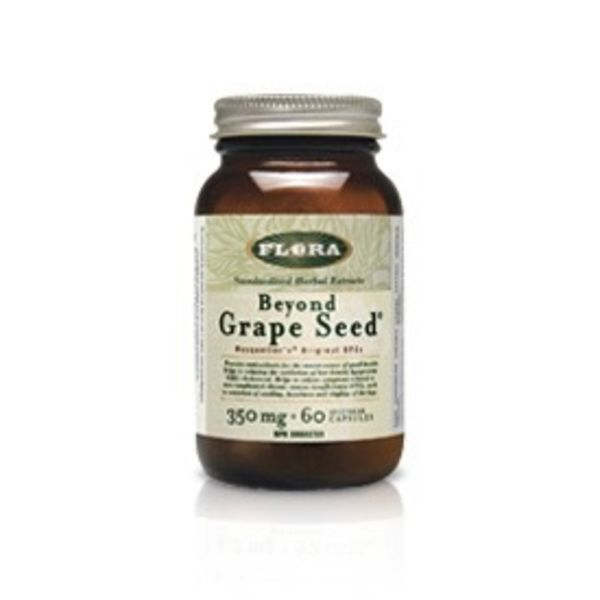 Flora Flora Beyond Grape Seed 350 mg 60 vcaps