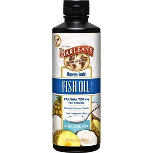 Barlean's Barlean's Fish Oil Omega Swirl Pina Colada 454g