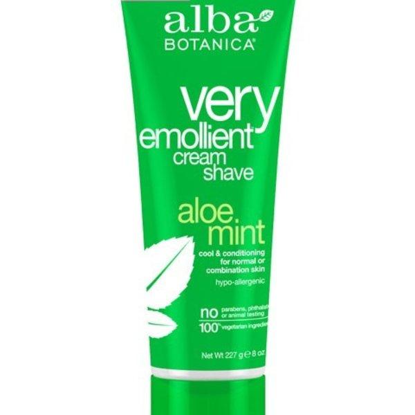 Alba Botanica Alba Shave Aloe Mint Cream 227 g