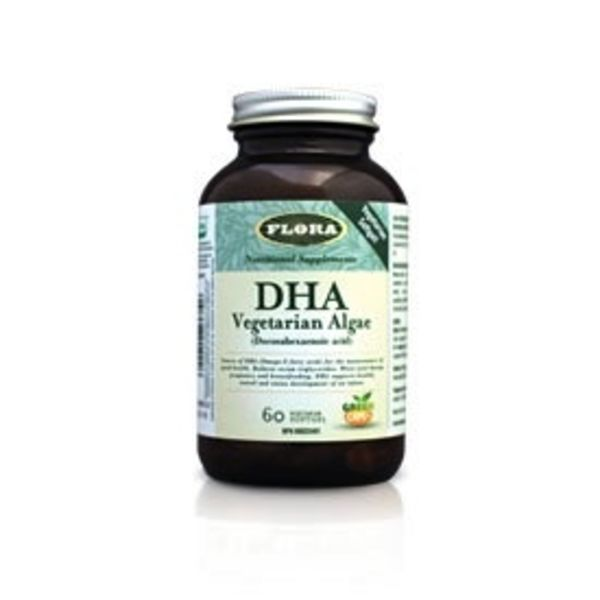 Flora Flora DHA Vegetarian Algae 60 vcaps