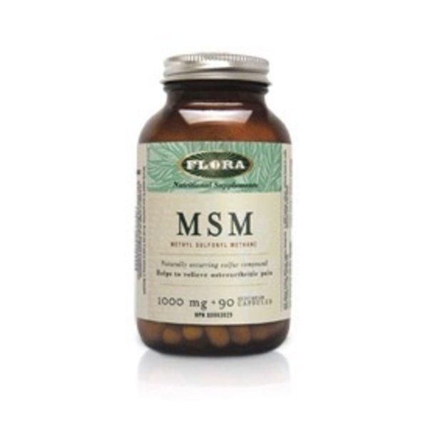 Flora Flora MSM Methyl Sulfonyl Methane 1000 mg 90 caps