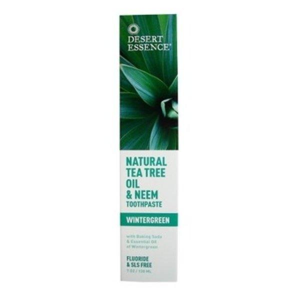 Desert Essence Desert Essence Tea Tree Oil Toothpaste with Neem 130ml