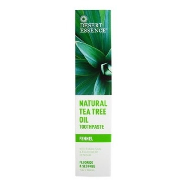Desert Essence Desert Essence Tea Tree Oil Toothpaste with Fennel 130ml