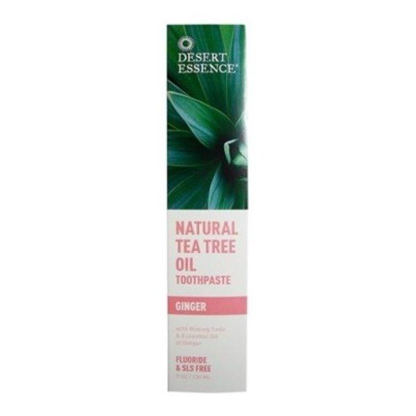 Desert Essence Desert Essence Tea Tree Oil Toothpaste with Ginger 130ml