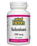Natural Factors Natural Factors Selenium 200mcg 90 tabs