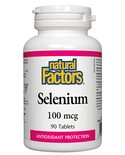 Natural Factors Natural Factors Selenium 100mcg 90 tabs