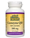 Natural Factors Natural Factors Coenzyme Q10 100mg 120 softgels