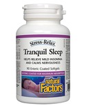 Natural Factors Natural Factors Stress-Relax Tranquil Sleep Enteric-coated 90 softgels
