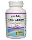 Natural Factors Natural Factors Stress-Relax Mental Calmness 100mg 60 chewables
