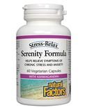 Natural Factors Natural Factors Stress-Relax Serenity Formula 60 vcaps