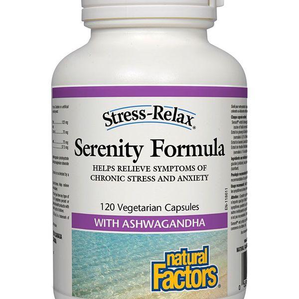 Natural Factors Natural Factors Stress-Relax Serenity Formula 120 vcaps