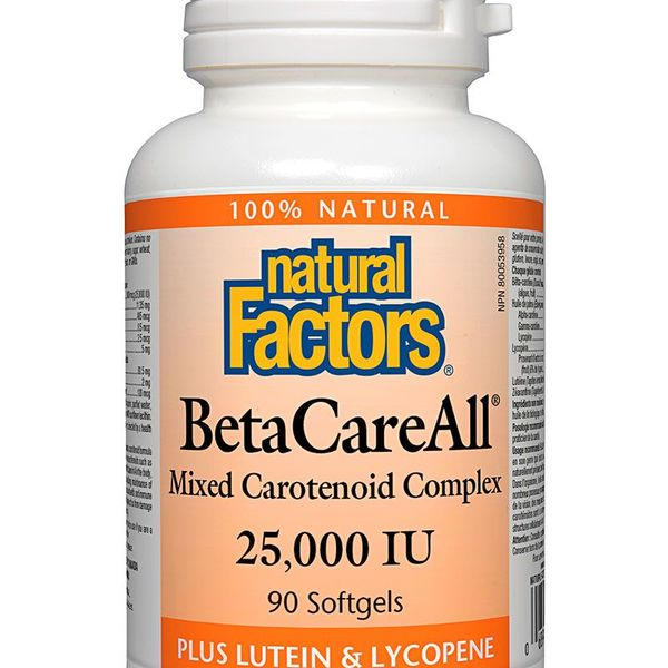 Natural Factors Natural Factors BetaCareAll 25,000 IU 90 softgels