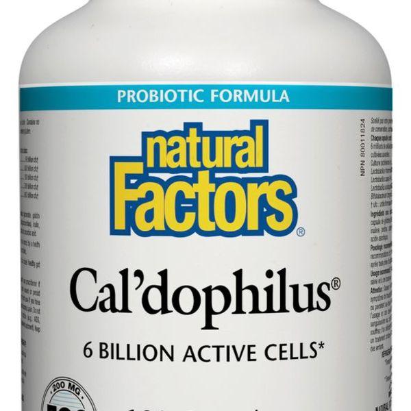 Natural Factors Natural Factors Super Strength Cal'dophilus with 200 mg FOS 180 caps