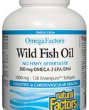 Natural Factors Natural Factors OmegaFactors Wild Fish Oil Enteric-coated 300mg 120 softgels