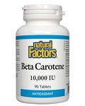 Natural Factors Natural Factors Beta Carotene 10,000 IU 90 tabs