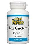 Natural Factors Natural Factors Beta Carotene 10,000 IU 90 tabs