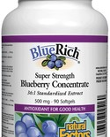 Natural Factors Natural Factors BlueRich Super Strength Blueberry Concentrate 500 mg 90 softgels